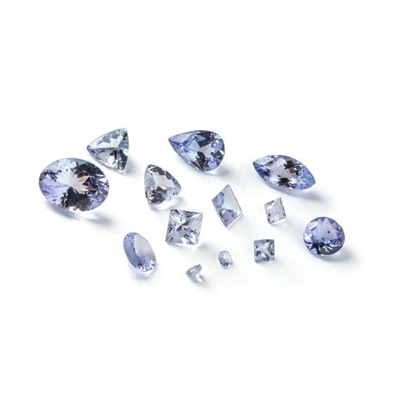 tanzanite gemstones anniversary