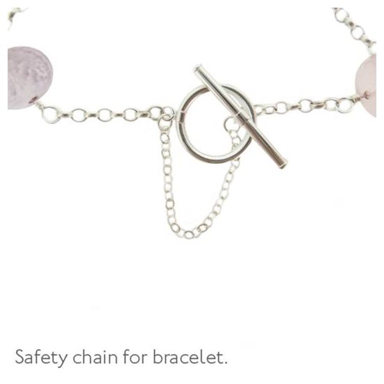 Sterling Silver Safety Chains