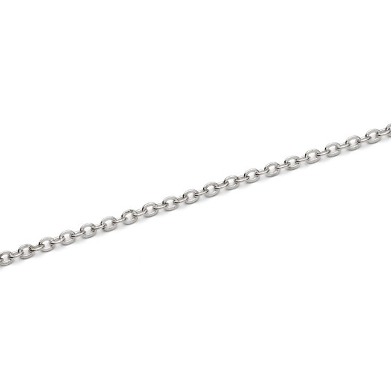 Silver Plated Trace Chain, Approx 100cm