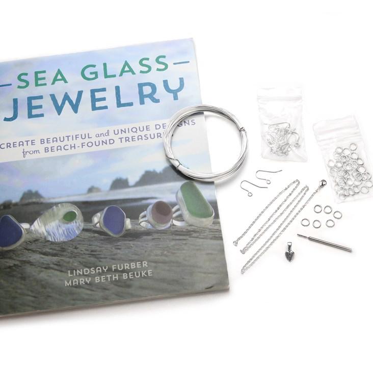sea glass jewellery starter kit