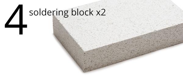 soldering block