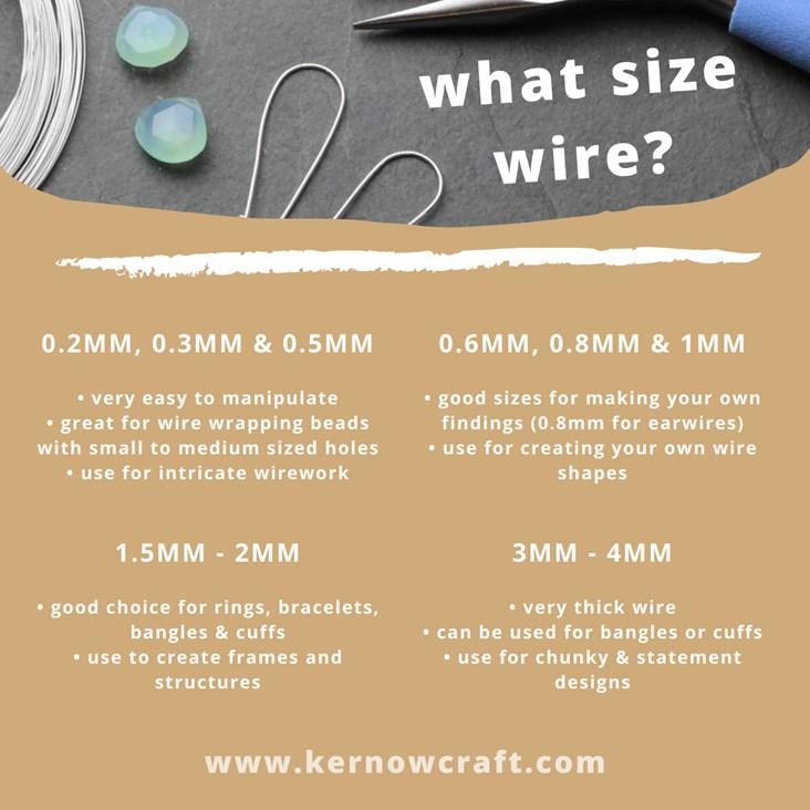choosing jewellery making wire