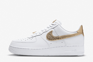 Nike Air Force 1 Low White Gold DC2181-100 | SneakerNews.com