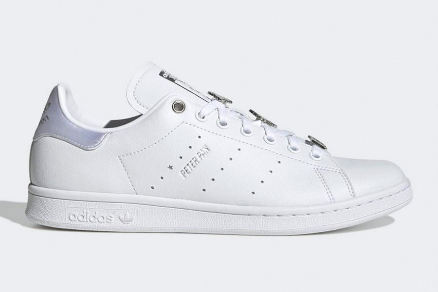 adidas Stan Smith Peter Pan Silver Metallic GZ5988 | SneakerNews.com