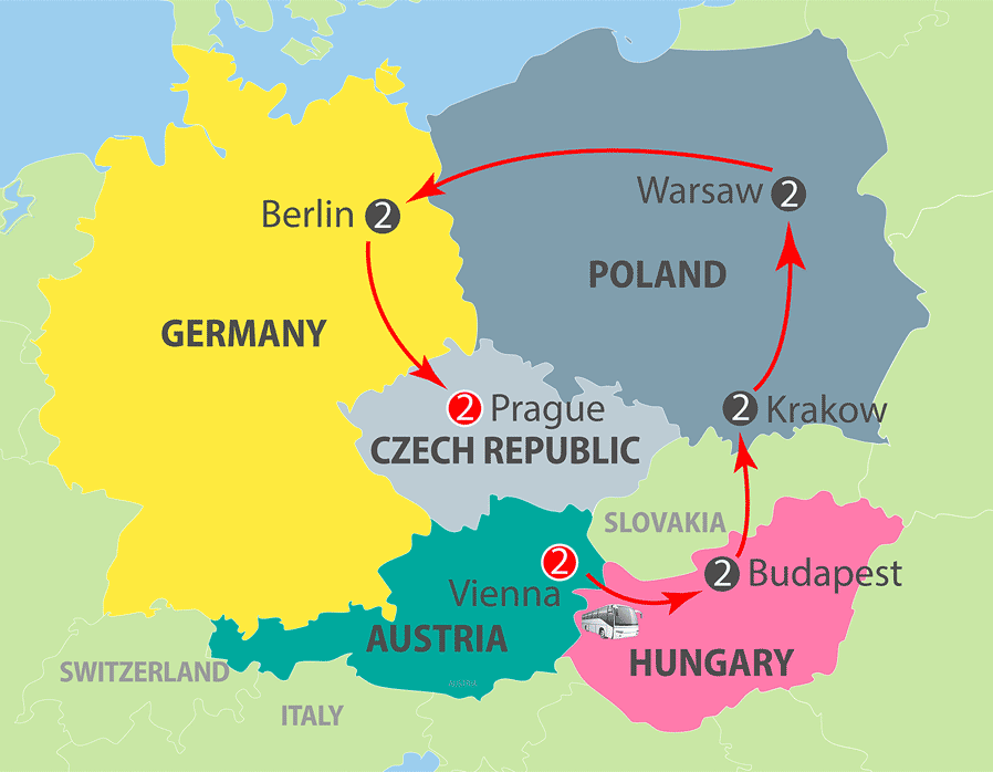 K601 - Eastern European Panorama - 13-day Escorted Tour
