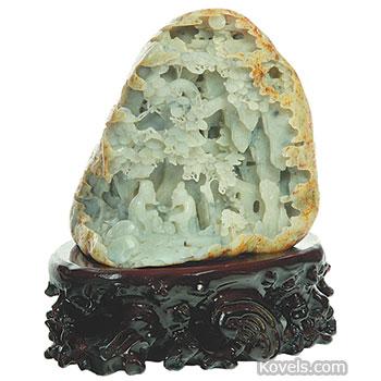 Antique Jade | Alabaster, Ivory, Jade, Marble & other Natural