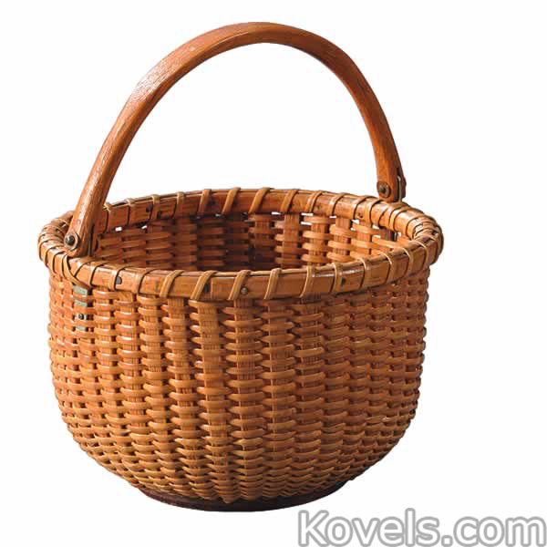 antique baskets folk art ethnic price guide antiques