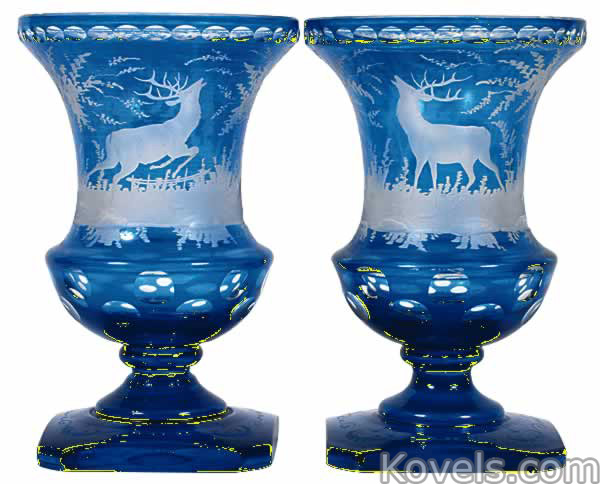 Antique Glass Art Glass Price Guide Antiques Collectibles