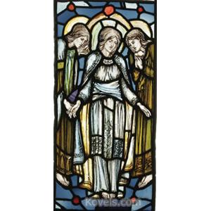 Window Stained Glass Hesperiden Pre-Raphaelite England C1890