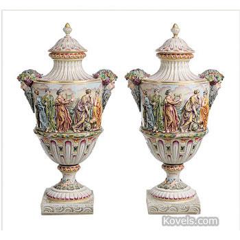 Antique Capo Di Monte Pottery Porcelain Price Guide Antiques