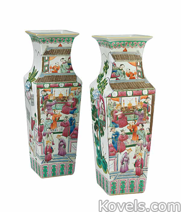 Antique Chinese Export Pottery Porcelain Price Guide Antiques