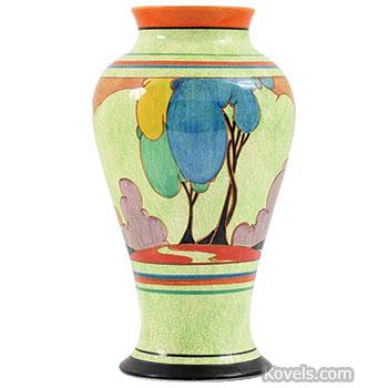 Antique Clarice Cliff Pottery Porcelain Price Guide Antiques