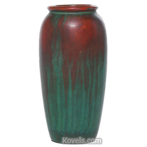 Clewell Vase Copper Clad Swollen Shape | Kovels' Price Guide