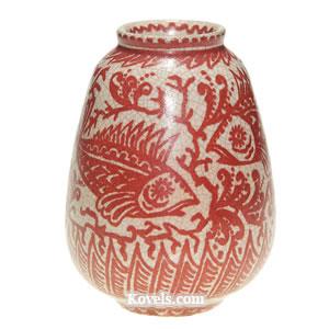 Pottery & Glass Precise Vintage Delft Blue Nosegay Double Handled Vase