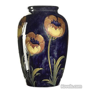 Antique Moorcroft Pottery Porcelain Price Guide Antiques