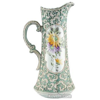 Antique Moriage Pottery Porcelain Price Guide Antiques