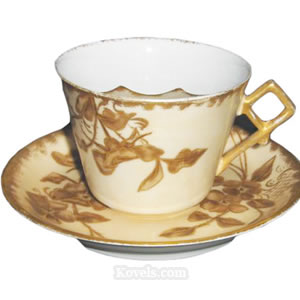 Antique Mustache Cups | Pottery & Porcelain Price Guide