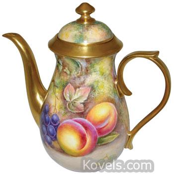 Antique Royal Worcester | Pottery & Porcelain Price Guide | Antiques ...