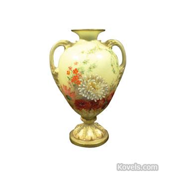 Antique Royal Worcester Pottery Porcelain Price Guide Antiques