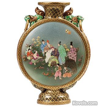 Antique Satsuma Pottery Porcelain Price Guide Antiques