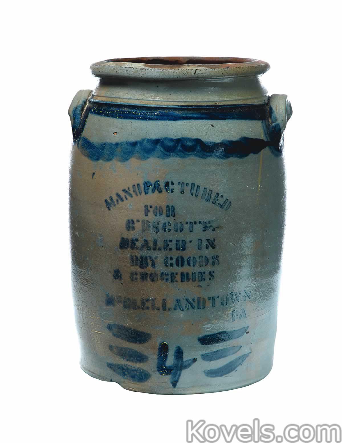 Antique Stoneware | Pottery & Porcelain Price Guide | Antiques ...