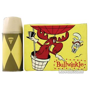 Lunch Box Bullwinkle Plastic Universal Industries