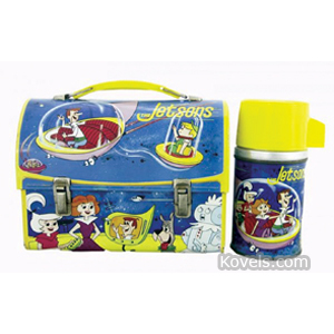 Lunch Box Jetsons Steel Dome 1963