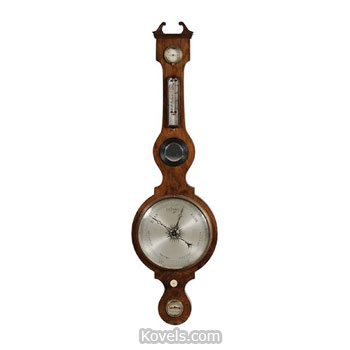 antique barometers technology price guide antiques rh kovels com airguide barometer repair airguide barometer replacement glass lens