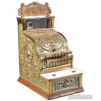 Antique Cash Registers   Technology Price Guide   Antiques