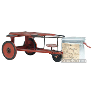 Patent Model Milking Stool 3 Wheels No 196543 O Scriven Oct 30 1877