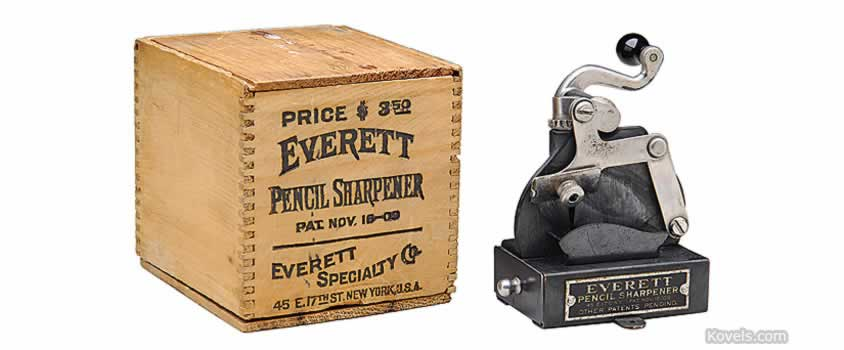 antique pencil sharpener technology price guide antiques