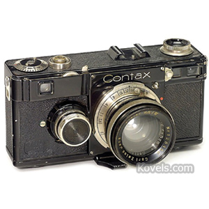 Photography Camera Zeiss Ikon Contax I Black Nickel 2 Lenses 1934