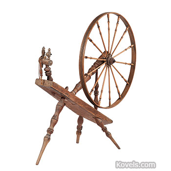 Antique Spinning Wheels | Textile, Clothing & Accessories