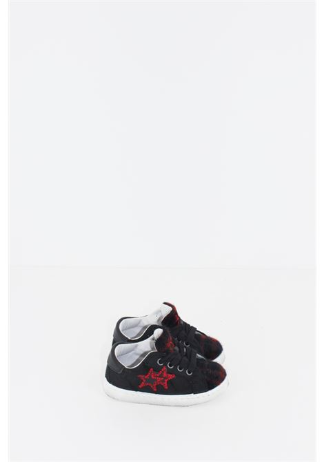 2 STAR | Sneakers | SNEAK067ROSSA-NERA