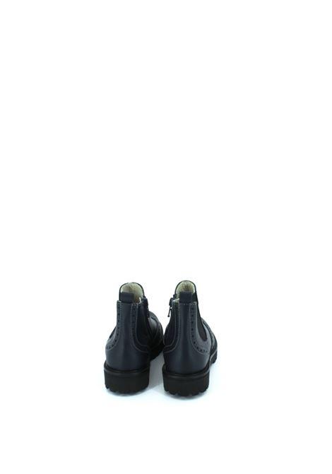 ANDREA MONTELPARE | Tronchetto con elastico | TRELA011BLU