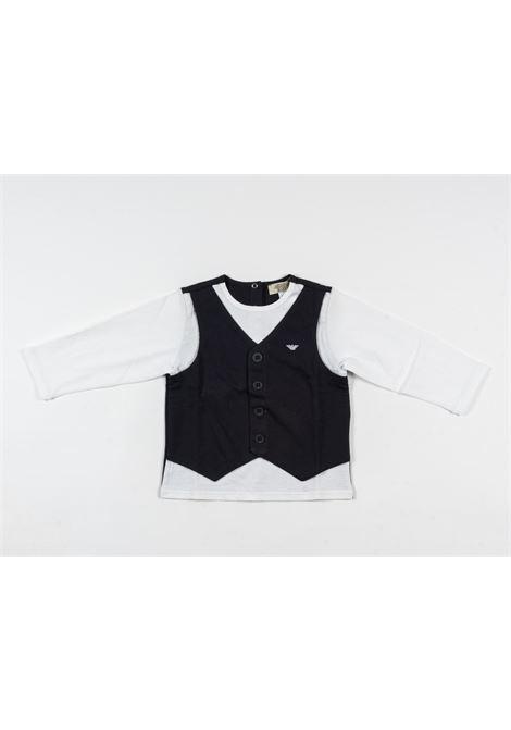 ARMANI | t-shirt long sleeve | ARM126BLU