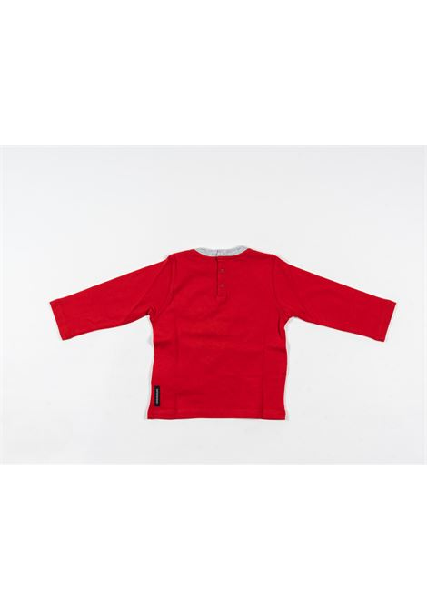 ARMANI | t-shirt long sleeve | ARM130ROSSO