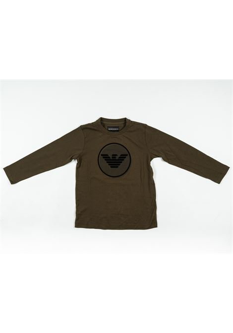 ARMANI | t-shirt long sleeve | ARM133VERDE SCURO