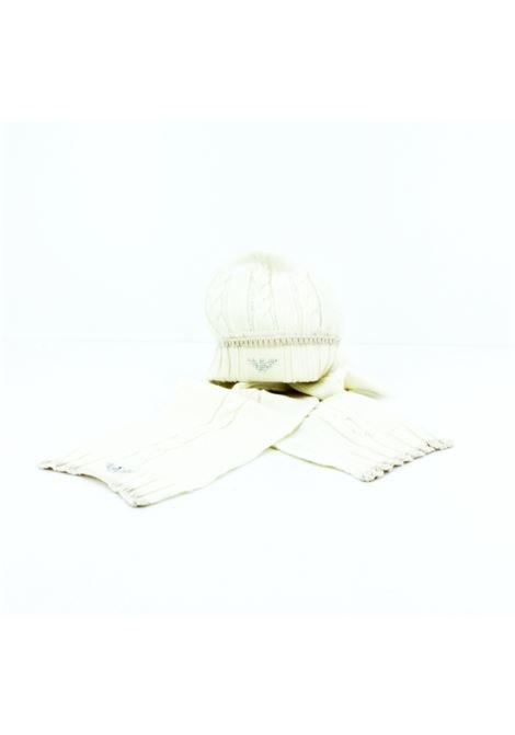 Cappelloe e sciarpa Armani ARMANI | Cappello | ARMSK808PANNA
