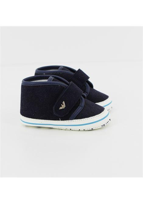 ARMANI | Sneakers | BK506BLU-BIANCA