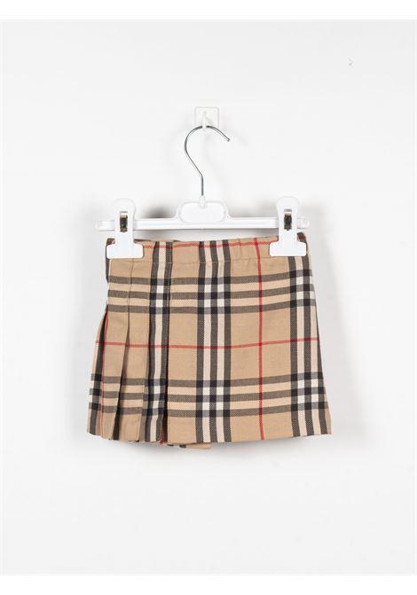 BURBERRY | skirt | BUR459CHECK BEIGE