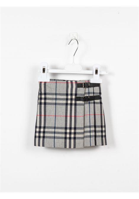 BURBERRY | skirt | BUR459CHECK GRIGIO