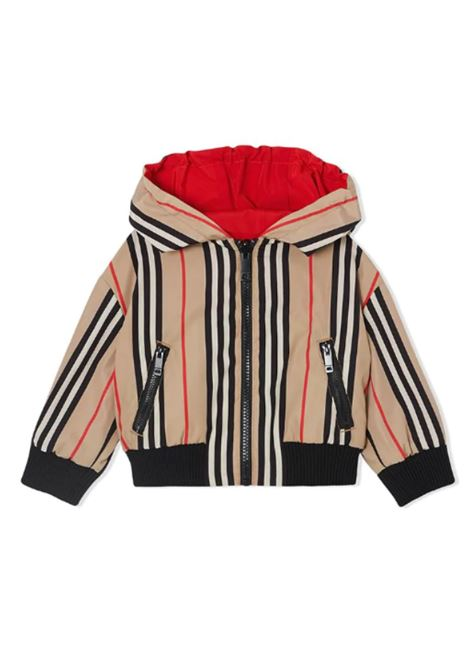 BURBERRY | jacket | BUR8016654ROSSO CHECK BEIGE