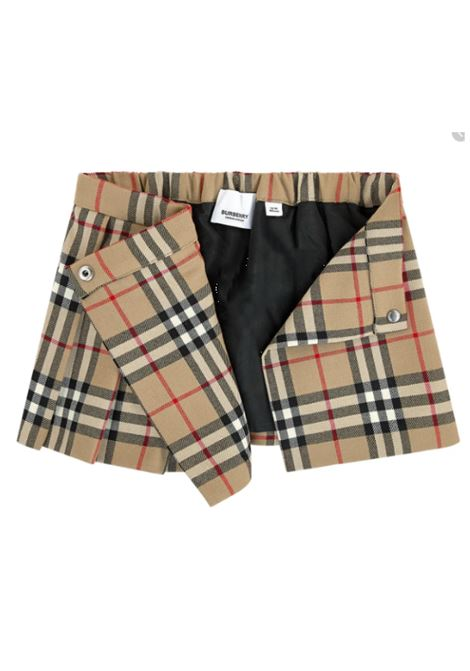 BURBERRY | skirt | BUR8020594CHECK BEIGE
