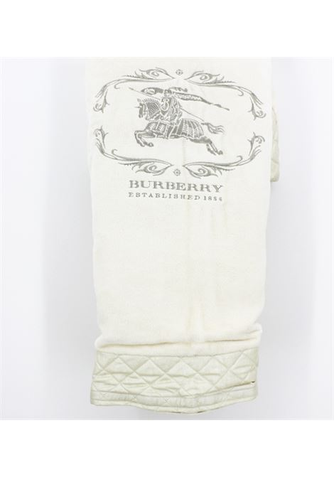 BURBERRY | padded blanket | BURBERRY003AVORIO