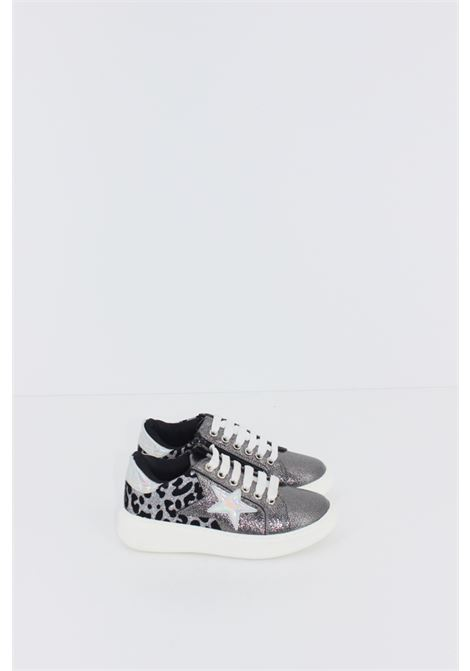 CAFE' NOIR | Sneakers | SNEAK073GRIGIA-ANIMALIER