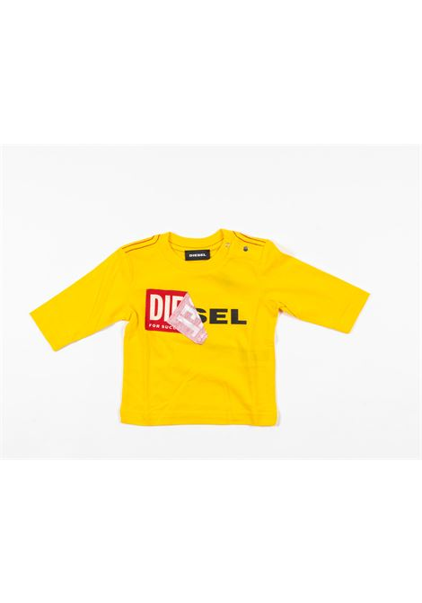 DIESEL | t-shirt long sleeve | DIE79GIALLO