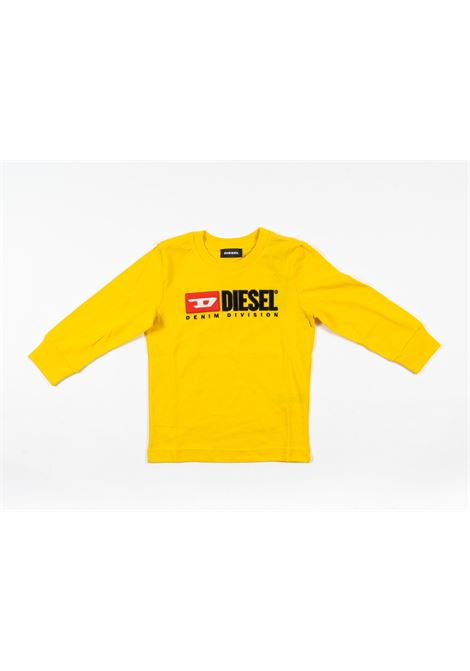 DIESEL | t-shirt long sleeve | DIE81GIALLO