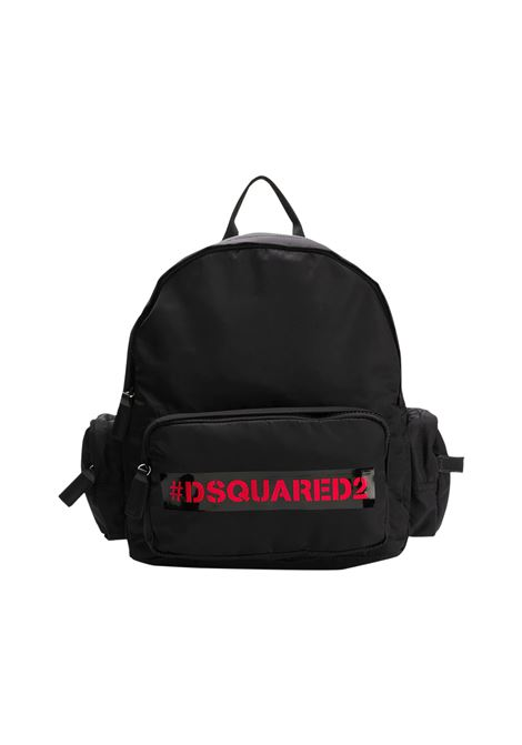 DSQUARED2 | backpack | DSQ441NERO