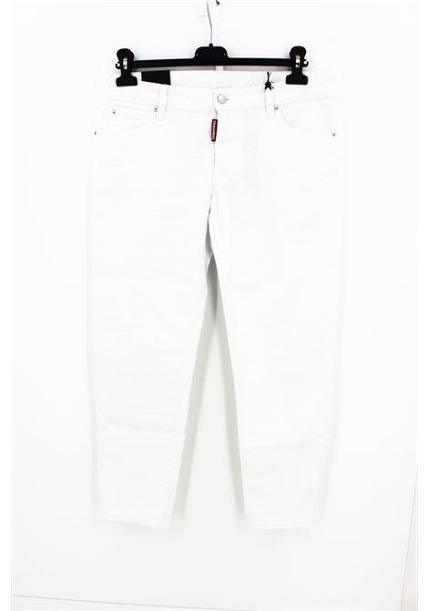 JEANS DSQUARED2 DSQUARED2 | Jeans | S75LB0127BIANCO
